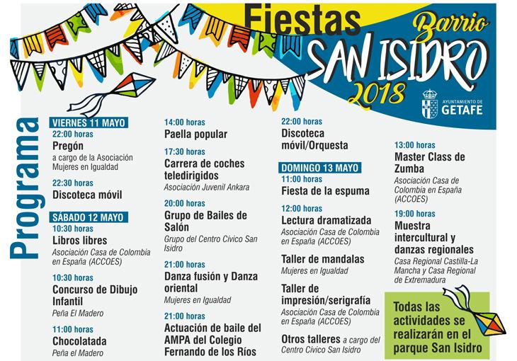 Getafe Fin De Fiesta: El Barrio De San Isidro Celebra Sus Fiestas Este Fin De
