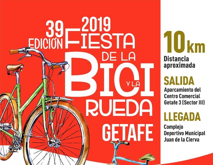Getafe Fin De Fiesta: Getafe Celebrará La Fiesta De La Bicicleta Y La Rueda