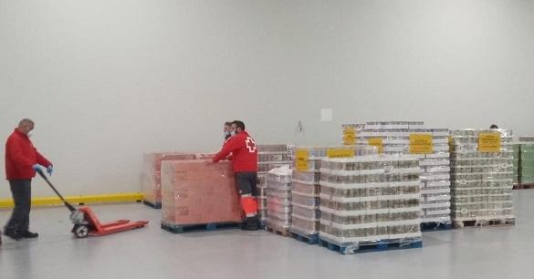 Supermercados Ahorramas cede a Cruz Roja un almacén logístico en ...